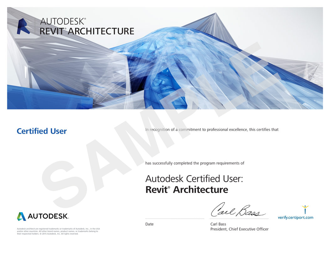 Autodesk-REVIT-Certificate